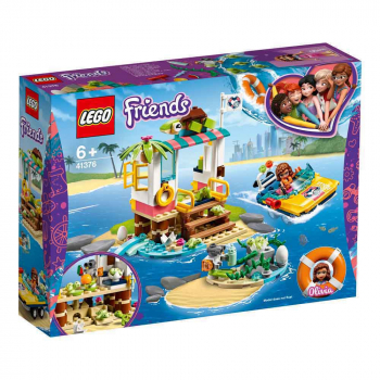 KOCKE LEGO FRIENDS TURTLES RESCUE MISSION LE41376