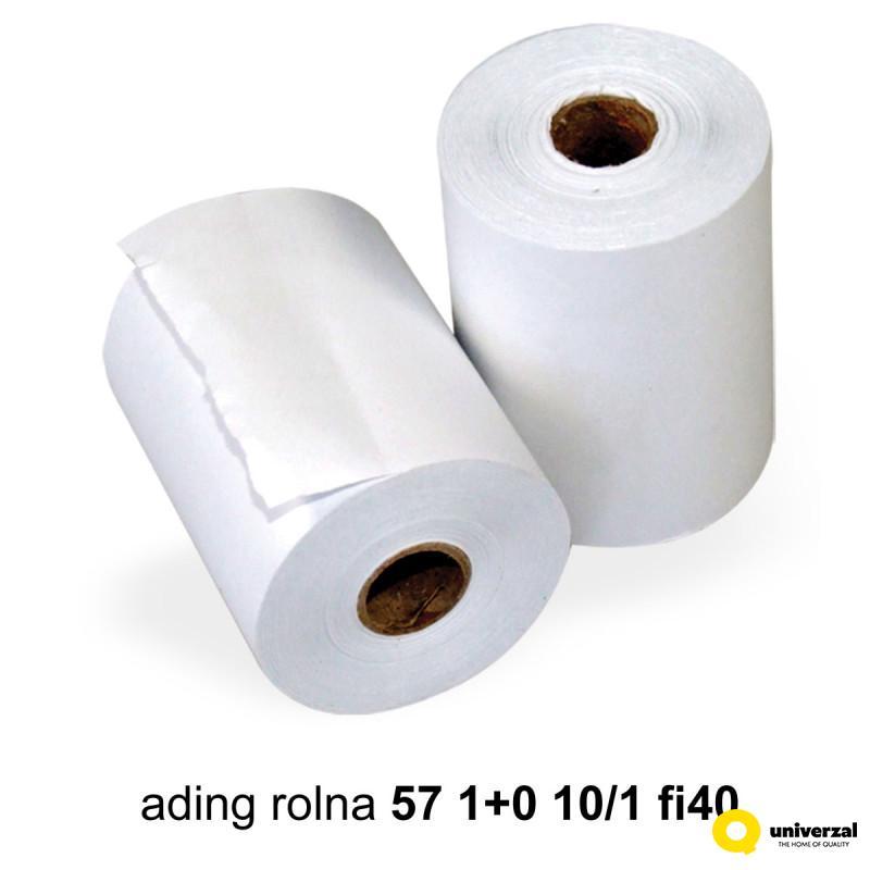 ADING ROLNA 57mm 1+0 10/1 fi40 UNI-LINE UNL-0062