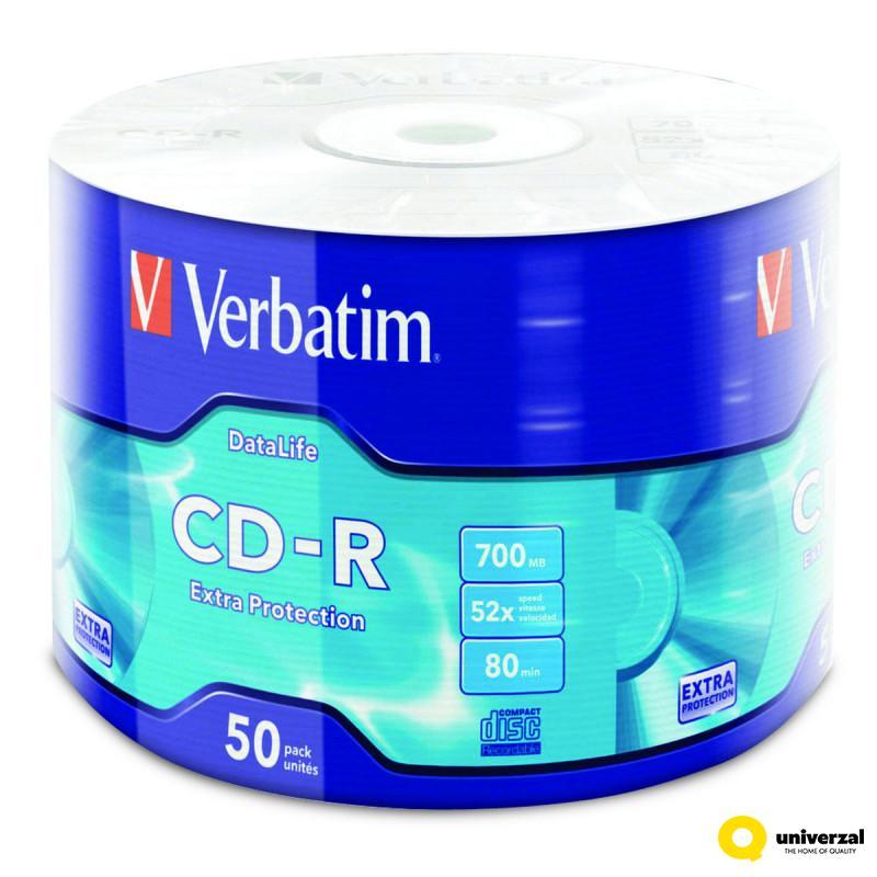 CD VERBATIM CD-R 50/1 43787