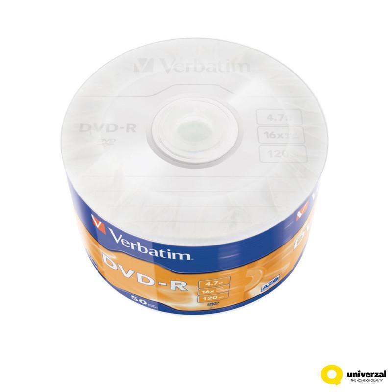 CD VERBATIM DVD-R 50/1 43788