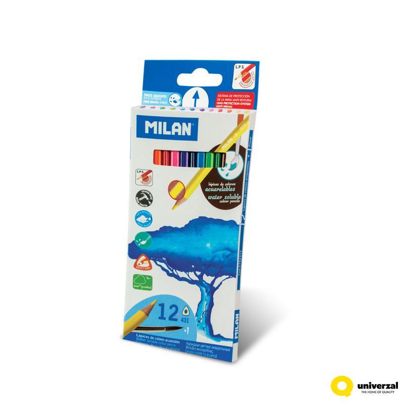 DRVENE BOJE 12/1 MILAN WATER SOLUBLE 0742312