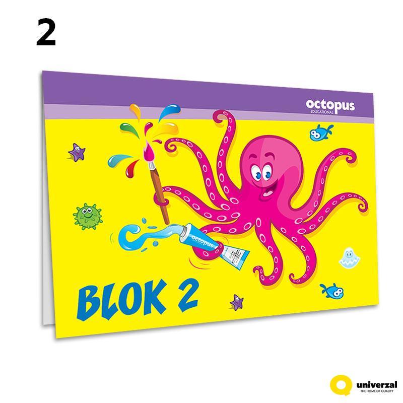 BLOK ZA CRTANJE BR.2 UNI LINE UNL-0066
