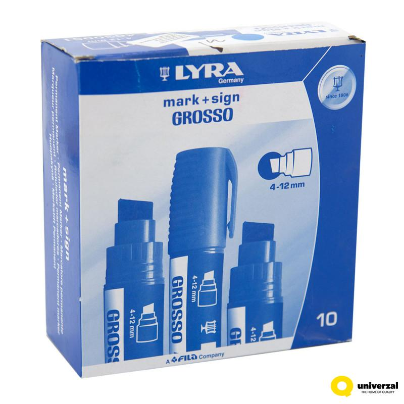 MARKER CRNI LYRA GROSSO 4-12mm 4030099