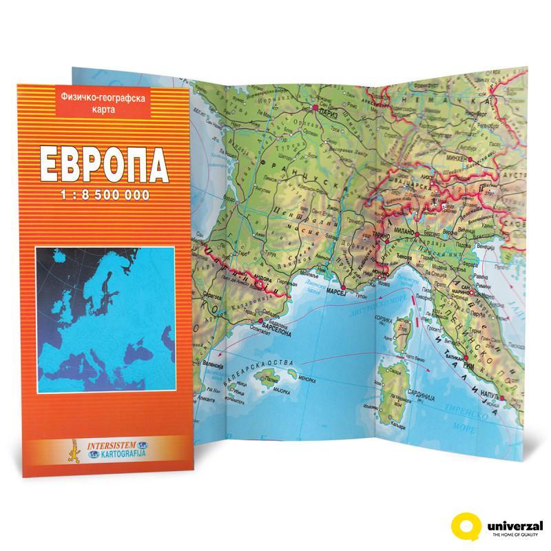 Karta Skolska Evrope Intersistem 7351 Www Uni Rs