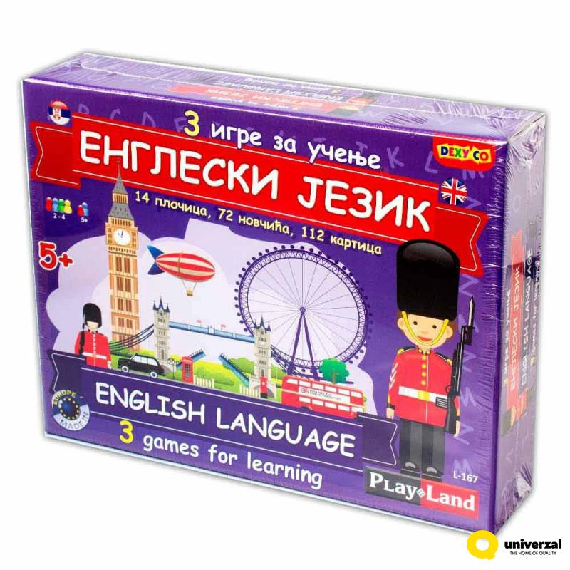 PLAY LAND ENGLESKI JEZIK PL167