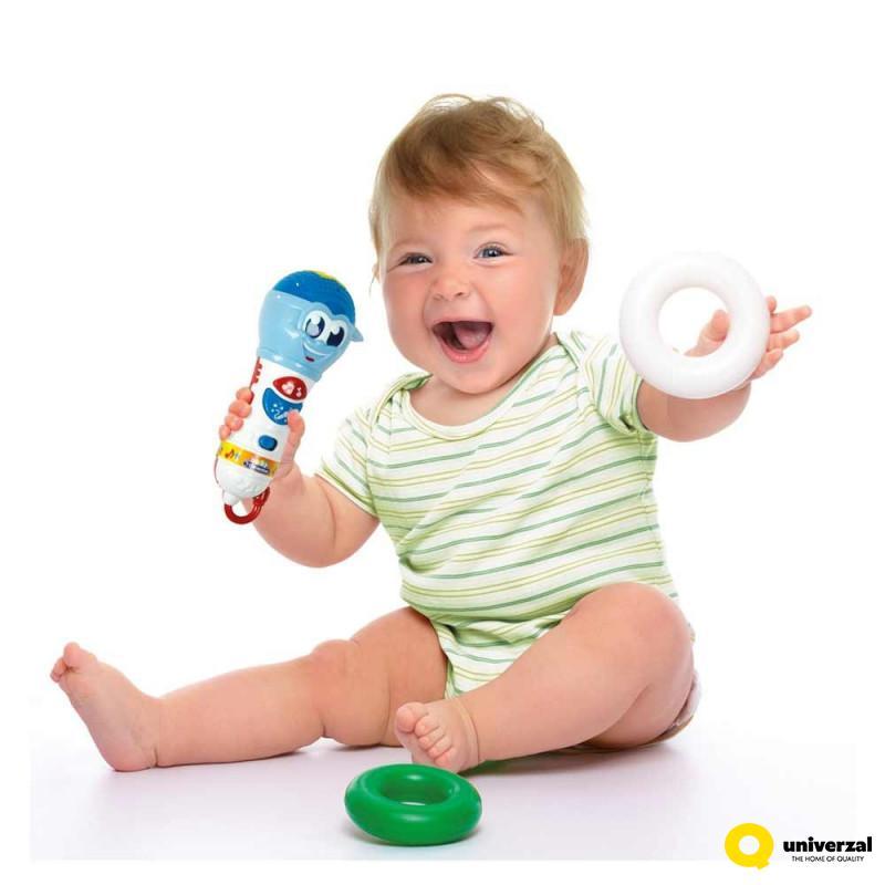 CLEMENTONI BABY MIKROFON 17181