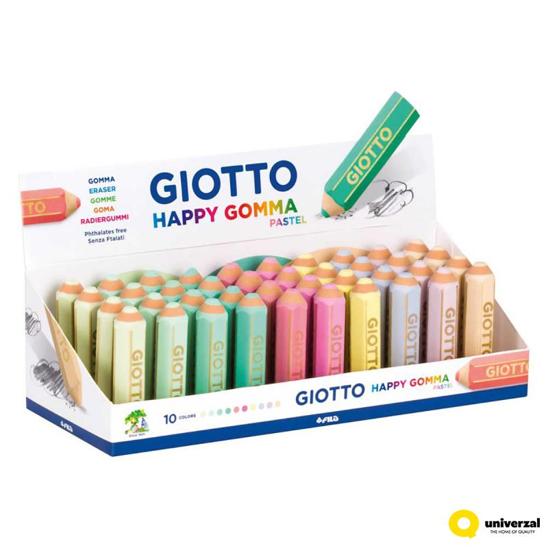 GUMICA GIOTTO HAPPY GOMMA PASTEL 234000