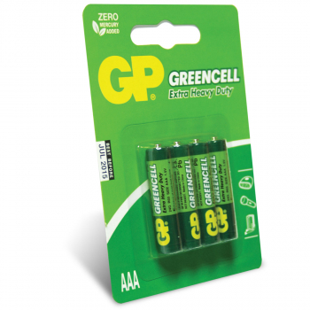 BATERIJE GP GREENCELL 4/1 R03 24G-U4