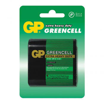 BATERIJE GP GREENCELL 1/1 4.5V 3R12 BLIS