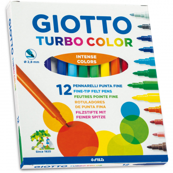 FLOMASTER 12/1 GIOTTO TURBO COLOR 4160