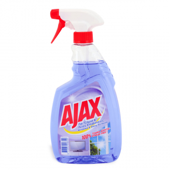 SREDSTVO ZA STAKLA AJAX 750ml PUMPICA SHINY