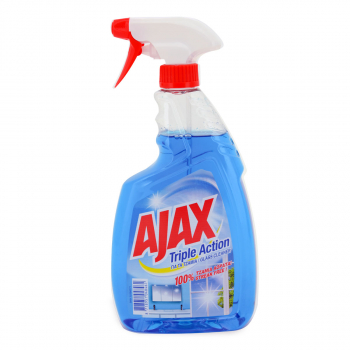SREDSTVO ZA STAKLA AJAX 750ml PUMPICA TRIPLE ACTIO