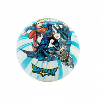 LOPTA PVC SUPERMAN-BATMAN MOTIV 12cm WB-BS001