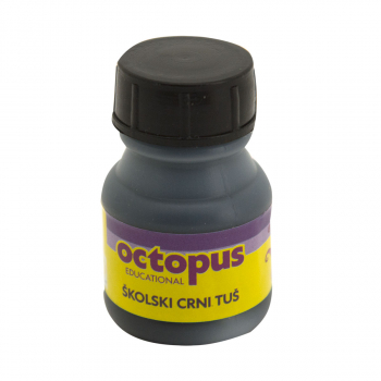 TUŠ CRNI 20ml OCTOPUS UNL-1370