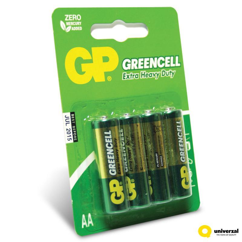 BATERIJE GP GREENCELL 4/1 R6 1.5V 15G-U4