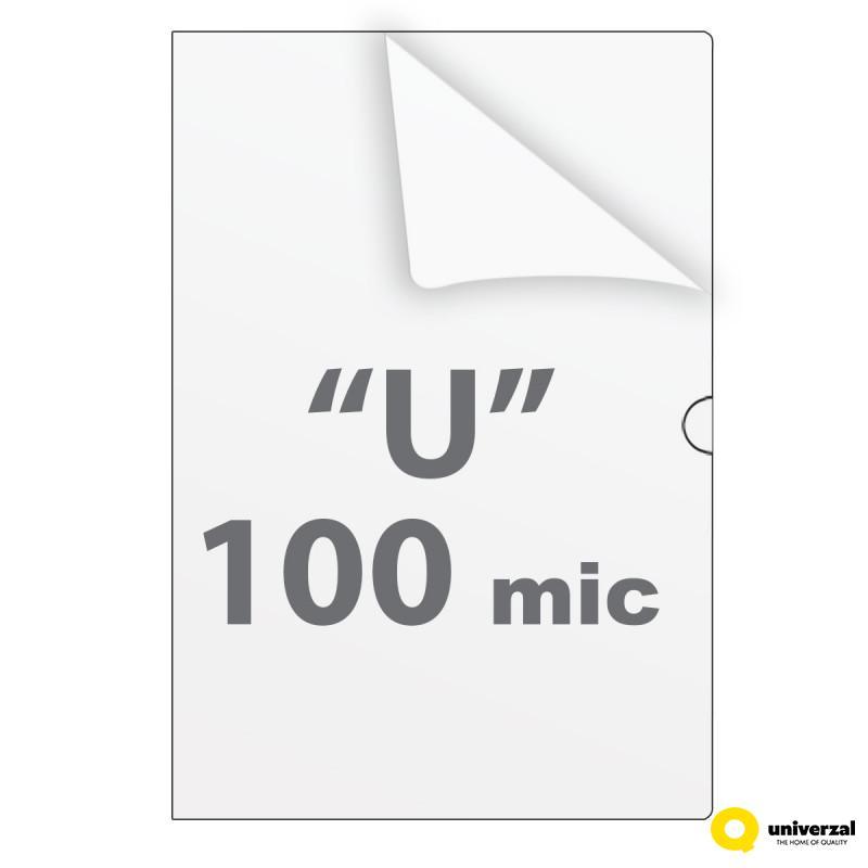 FASCIKLA A4 U 10/1 I KLASA 100mic UNI LINE UNL-0092