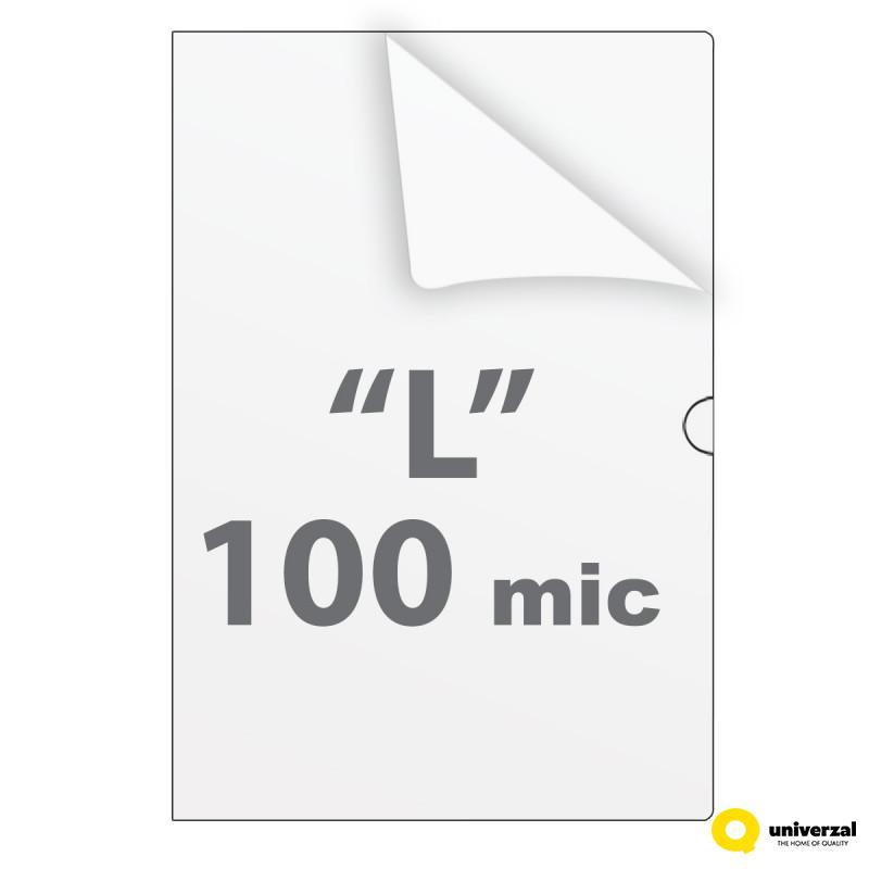 FASCIKLA A4 L 10/1 I KLASA 100mic UNI-LINE UNL-0098