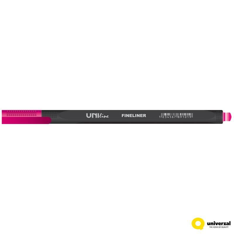 LINER 0.4mm FINELINER UNI-LINE 16 BOJA UNL-0605