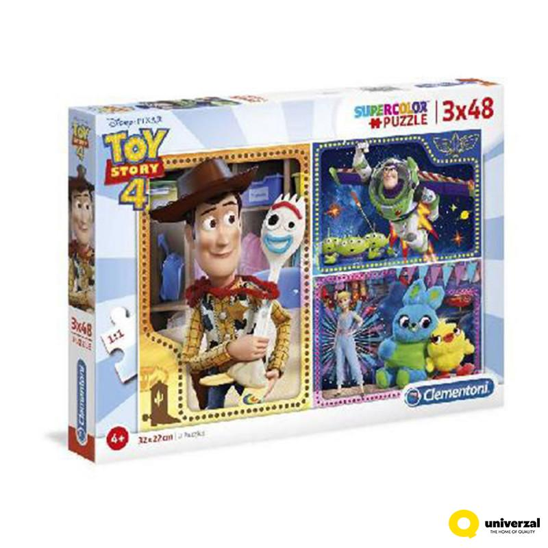 PUZZLE 3X48 TOY STORY 4 CL25242
