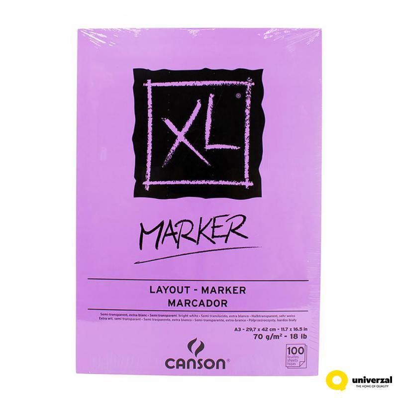 BLOK A3 70g 100 LISTA XL MARKER CANSON 200297237