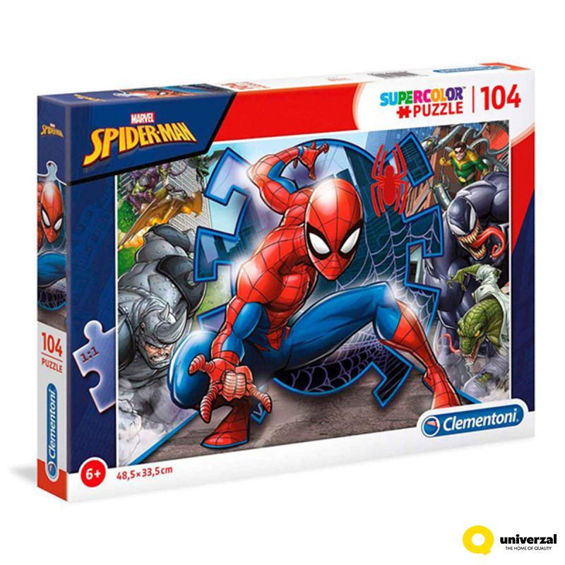 PUZZLE CLEMENTONI 104 SPIDER-MAN CL27116