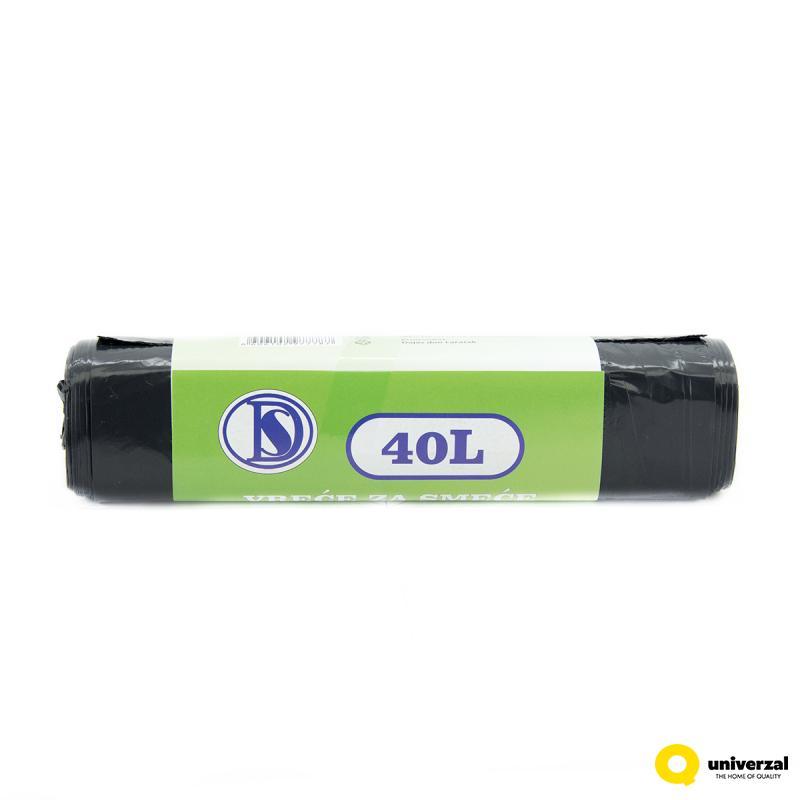 KESA ZA SMEĆE 40L 500X700  20/1 DS K.P